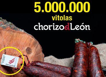 Etiqueta Chorizo de León